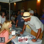 Paula Atherton with Fan at Balcones Heights Jazzfest